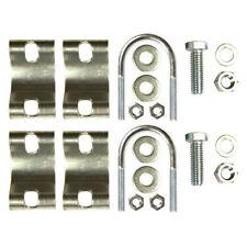 ROHN HBHDW NEW OEM Replacement Clamp Set for HB25AG HB25BG HB25CG House Bracket