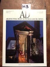 AD - N.120 - MAGGIO 1991 - ARCHITECTURAL DIGEST. LE PIU' BELLE CASE DEL MONDO