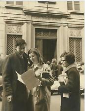Italia, Torino, al liceo Gioberti Vintage silver print Tirage argentique  18