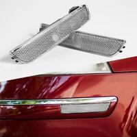 1 Pair OEM Clear Front/Rear Bumper Side Marker Lights For Passat B5.5 2001-2005
