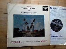 Mendelssohn Violin Concerto Bruch Scottish Fantasia Vinyl Record SXL2026 ED1 WBG