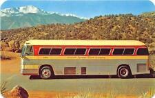 Colorado Springs Co Coach Company Bus Postcard