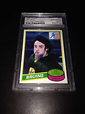 Jim Craig Signed 1980-81 Topps Rookie Card Miracle On Ice PSA Slabbed #83476189