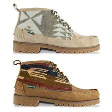 Sebago Shoes - Sebago X Pendleton Deer Campsides Boot - 7111NVW - BNIB