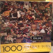 Antique Toys 1000 Piece Jigsaw Puzzle Springbok by Hallmark SEALED
