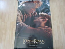Lotr Return Of The King Poster Frodo And Sam Original Ds 40 X 27 A11807