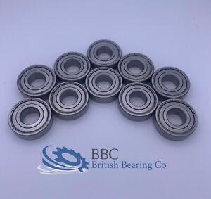 Pack of 10 6204 2Z ZZ 62042Z ZZ Metal Shielded ACE Brand Bearing 20x47x14mm
