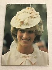 =#526 HRH Princess Diana Unused Color Post Card Charles Skilton's Series