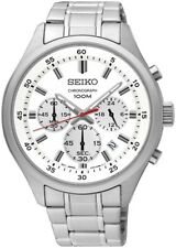 SEIKO SKS583P1 Chronograph All Stainless Steel 100M Gents 2 Year Guar RRP £200.