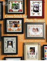 Cross Stitch for Photo Frames | American School of Needlework 3758 NEW!