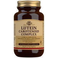 Solgar Lutein Carotenoid Complex 30 Vegicaps
