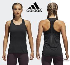 adidas Supernova Women's Tank Top Black Running Sports Sleeveless T-Shirt CG1106