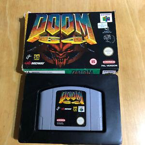 Nintendo 64 Game Boxed N64 - DOOM