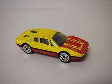 MATCHBOX 1981 FERRARI 308 GTB YELLOW AND RED 1:64