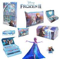 Disney Frozen 2 Stationary Gift Set Case Chest Pencil Case Stocking Filler Elsa