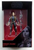 "STAR WARS THE BLACK SERIES 3.75"" SERGEANT JYN ERSO ACTION FIGURE IN STOCK"