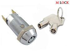 LOF OF 100 Key Switch Lock Momentary Tubular Garage Safe Alarm Keyed Alike NEW