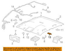 GM OEM-Dome Reading-Light Assy 23155119