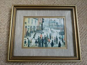 "Vintage LS Lowry Framed Print ""The Procession"""