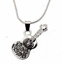 Guitar Pendant Guitar Necklace Guitar Necklace Drop Pendant 114227