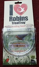 WINDOW TREAT TRAY WITH RAIN CANOPY. SEE BIRDS FEED UP CLOSE.SPECIAL OFFER