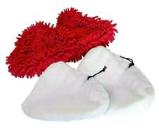 Dirt Devil DSS04-E01 & DDS04-P01 Steam Mop Cleaner 2 Coral & 2 Microfibre Pads