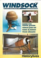 Windsock International V.13 N.1 Danish Vacform Polish Ansaldos Italy German BAT