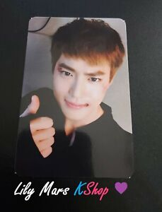 EXO Suho Sing For You Official Photocard
