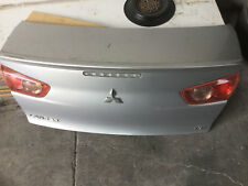GENUINE 2008 MITSUBISHI LANCER VR , BOOT LID SILVER , Paint Code CE