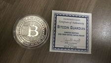 BitCoin Guardian Numbered Proof .999 silver 1 oz coin