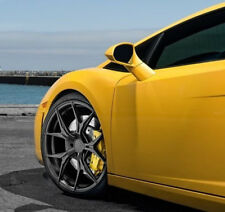 20x9 / 20x11 Rohana RFX5 5x112 Black Wheels Set For 2011 Lamborghini Gallardo
