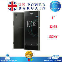 "Sony Xperia XA1 Black 5"" Android 4G 32GB NFC Unlocked Android Smart Phone G3121"
