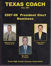 2007 Texas Coach Magazine May Richard Carson Craig Yenzer Bob Gillis 19438