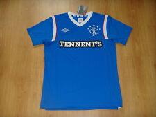 Glasgow Rangers Soccer Jersey Scotland Top Football Shirt Maglia Home Trikot
