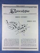 Harry Lorayne's Apocalypse - Harold Cataquet - Trucchi di Magia - 1994 Vol.17