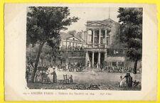 CPA Gravure Eau forte France 75 - Ancien PARIS THÉATRE des VARIÉTÉS en 1829