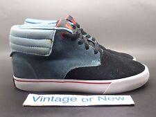 Men's Supra Passion Lizard King Blue Black Red Suede Skate Shoes sz 5.5