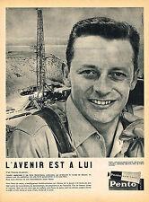 PUBLICITE ADVERTISING 114  1960  PENTO  brillantine