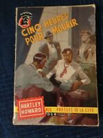 Libro Novela Polar Cinco Horas Para Morir Por Hartley Stone 1957