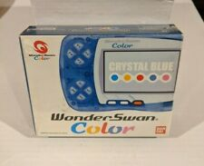 Factory Sealed Bandai Console - WonderSwan Color - Crystal Blue