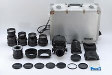 [Exc+++ in case] Mamiya RB67 Pro S + 55,65,90,180,250mm lens Kit From Japan #276