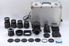 [EXC +++ in Case] Mamiya RB67 Pro S + 55,65,90,180,250mm Objektiv Kit aus Japan #276