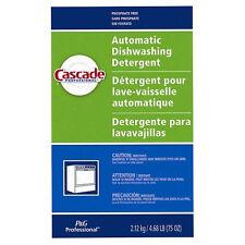 Cascade Dish Wash Detergent White/Green 75 oz Fresh Powder | 7/Case