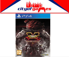 Street Fighter V 5 Arcade Edition PS4 New & Sealed