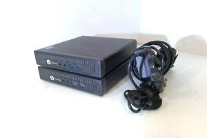 K1K91UT PAIR EliteDesk 800 G1 USDT i5-4590T 2.0GHz 4GB 500GB HDD Win10