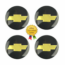 "4pcs 65mm(2.56"") Chevy Logo Car Wheel Center Hub Cap Decal Sticker For Chevrolet"