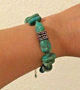 Genuine Turquoise with Bronze New Barse Bracelet