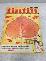 Tintin il Giornale Delle Super-Jeunes di 7à 77 Ans N° 1195 24e Anno