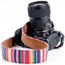 DSLR SLR Camera Shoulder Strap Neck Belt Grip Cross Body For Nikon Canon Sony