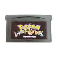 Nintendo GBA Video Game Console Card Cartridge Pokemon Hyetology